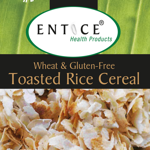 Toasted Rice Cereal Labels