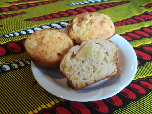 Entice Gluten Free Apple and Spice Muffins