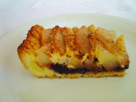Entice Gluten Free Chocolate Pear Tart