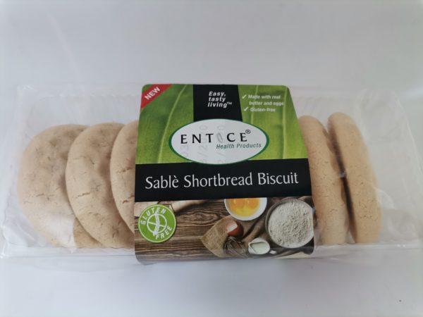 Sable Salted Shortbread Biscuit